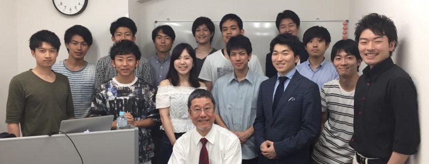 富田講師 授業集合写真