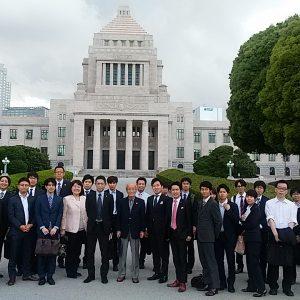 課外講義:参議院国会見学会を開催!