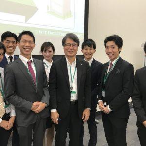 NTTファシリティーズ社長 一法師様のセミナーに参加させていただきました!