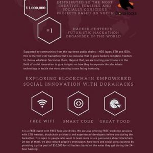 ブロックチェーンイベント DoraHacks Global Hackathon Series@Tokyoの開催!